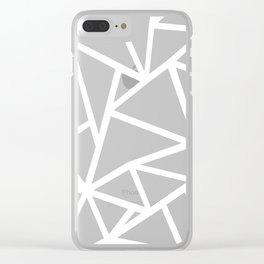 Ab Marble Zoom Clear iPhone Case