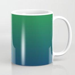 Cute Green And Blue Gradient Design Coffee Mug