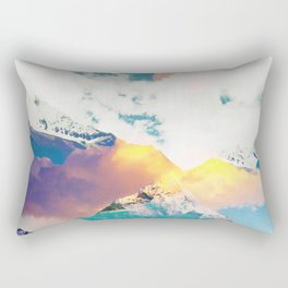 Dreaming Mountains Rectangular Pillow
