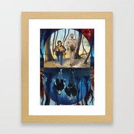 Stranger World Framed Art Print