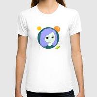 manga T-shirts featuring manga girl_9. by fernk