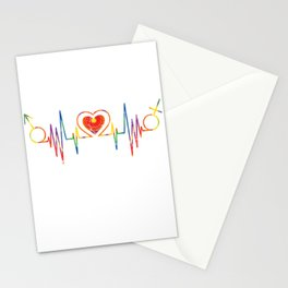 Heartbeat For Peace & LGBT Stationery Cards