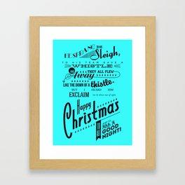 'Twas the Night Before Christmas (Print #2) Framed Art Print