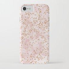 Cotton candy diamond rain Slim Case iPhone 7