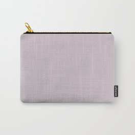 Peony Afternoon ~ Light Lavender Pink Carry-All Pouch