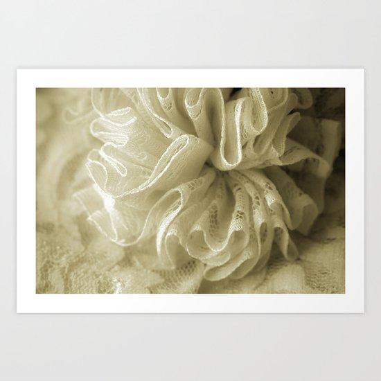 Vintage Lace Art Print