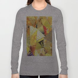 Collage - They Call Me Mellow Yellow Long Sleeve T-shirt