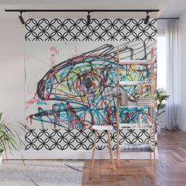 Eye 2 colour Wall Mural