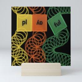 Playful Mini Art Print