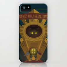 Rapture: No Gods or Kings. Only Man. (BioShock) iPhone (5, 5s) Slim Case