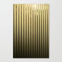Goldenen Linien Canvas Print
