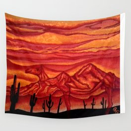 Camelback Mountain Phoenix, AZ Wall Tapestry
