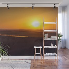 Kicking Up Dust Wall Mural
