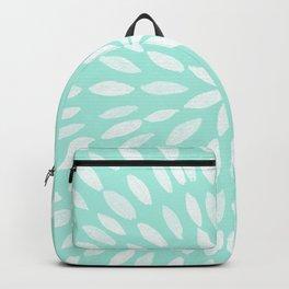 Mandala Flower #9 #mint #drawing #decor #art #society6 Backpack