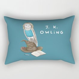 J. K. Owling Rectangular Pillow