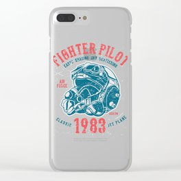 Fighter Pilot Clear iPhone Case