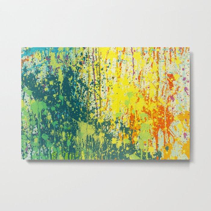 splash paint Metal Print