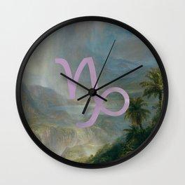 Fine Zodiac / Capricorn Wall Clock