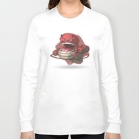 daredevil Long Sleeve T-shirts featuring Daredevil by Knighted
