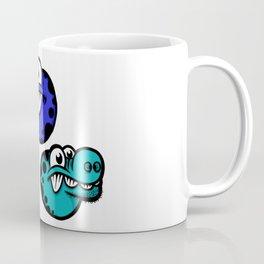 Floating dinos Coffee Mug