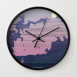 I Was Only Going Out Wall Clock