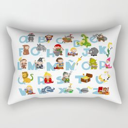ABC  medieval (spanish) Rectangular Pillow