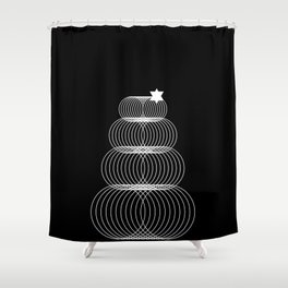Simple Sweet - Christmas Tree Shower Curtain