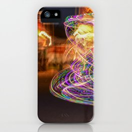 Hoopers spin iPhone Case