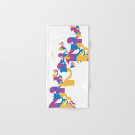 """Alap 28 """"Allap to the 28th Power"""" Hand & Bath Towel"""