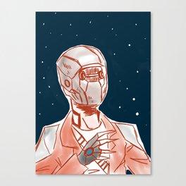Beyond space mercenary Canvas Print