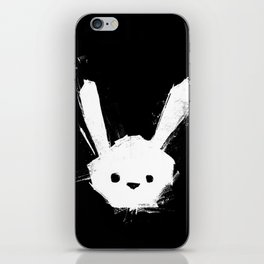 minima - splatter rabbit  iPhone Skin
