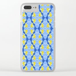 Patterns: Yellow Sages Clear iPhone Case