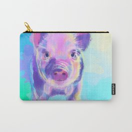 Once Upon a Pig - digital painting Carry-All Pouch