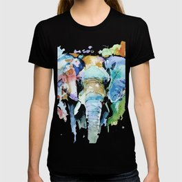 Animal painting T-shirt