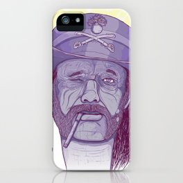 Old metal bastard lemmy iPhone Case