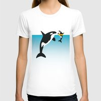 orca T-shirts featuring Orca by WyattDesign