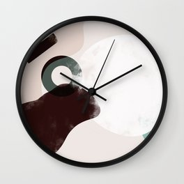 Domio Abstract 4 (Landscape) Wall Clock