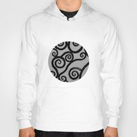 dublin Hoodies featuring Spirals - pieces of Dublin by Arianna Sulpizi