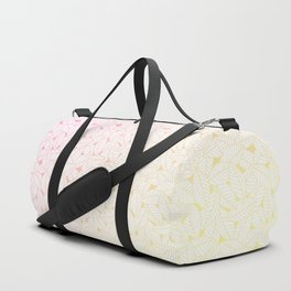 Leaves in Sunset Duffle Bag