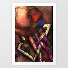 Terrestial Construct Art Print