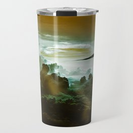 I Want To Believe - Gold Travel Mug