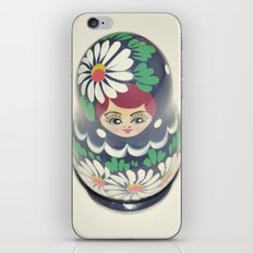 The Russian Doll iPhone & iPod Skin