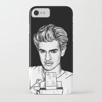 garfield iPhone & iPod Cases featuring Andrew Garfield by Sharin Yofitasari