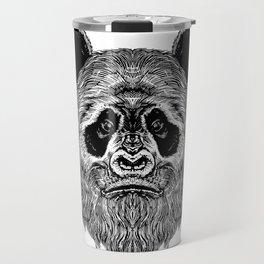 Bigfoot Panda Travel Mug