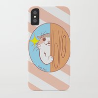 fat iPhone & iPod Cases featuring Fat Fat Peeks by Fat Fat
