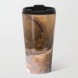 Ancient Pueblo - Gila Cliff Dwellings Travel Mug