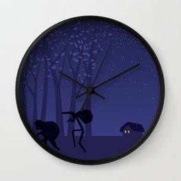 THE THIEVES & THE COCK Wall Clock