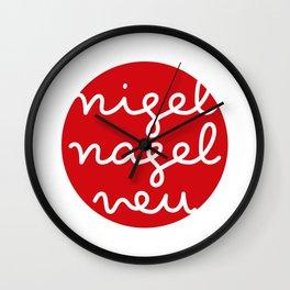 nigelnagelneu / brand new Wall Clock