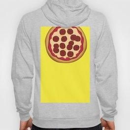 Pizza Home Decor Yellow Art Print Italian Cuisine Pepperoni salami Kitchen Decoration Yellow Art Hoody