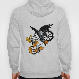 Raven and Ginkgo - Autumn Cycle Hoody